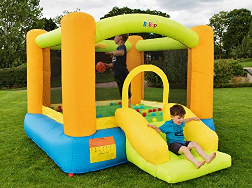BeBoP?Grasshopper Kids Inflatable Bouncy Castle and Slide