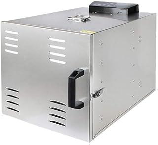 JUAN Food Dehydrator, 10 Stainless Steel Tray Low Noise Anti Scalding Fruit Dryer, 800W