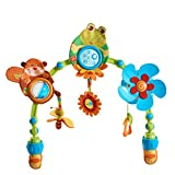 Tiny Love My Nature Pals Stroll Activity Arch, Travel Arch with Toys,...