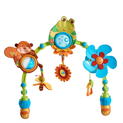 Tiny Love My Nature Pals Stroll Activity Arch, Travel Arch with Toys, 0 month +, Universal Attachment Clips fit any Pram, Pushchair or Baby Car Seat