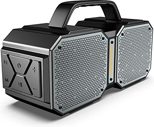Bluetooth Speaker, BUGANI M83 IPX6 Waterproof Portable Bluetooth Speaker with 8000mAh Power Bank,...