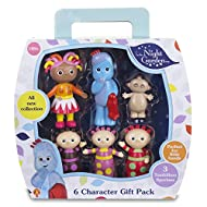 GIFT BOX: with carry handle and characters Iggle Piggle, Upsy Daisy, Makka Pakka and Tombliboos PRETEND PLAY: children use their imaginations through role play at home, as bath toys or on the go MADE FOR TINY HANDS: brightly coloured made from a dura...