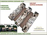 Cargo Container House / 4 Bedroom / 4 Bathroom / 2 Living Rooms/ Shipping Container House Plans: This is our full architectural set of concept plans - house plans under 1500 sq ft (English Edition)