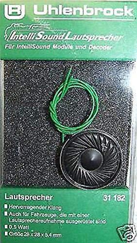 Uhlenbrock 31182 Lautsprecher 28 x 5,4 mm, 0,5 W