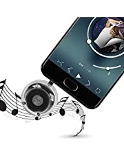 Transparenter Mini-Lautsprecher, 3,5-mm-Stecker MICRO USB Smart Stereo-Lautsprecherbox DIY-Kit Soundverstärker/Präzise elektronische Komponenten/Transparentes Acrylmaterial, Bluetooth-Lautsprecher