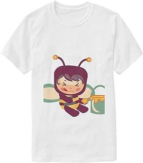 Hipster Sunflower Art White T Shirts Casual TeeShirts T-Shirt for Men Boys