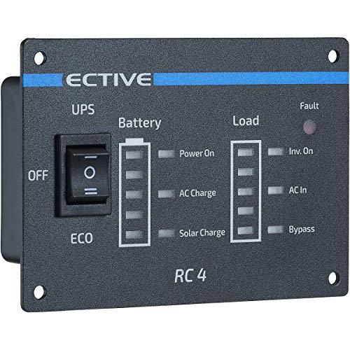 ECTIVE RC4 Fernbedienung mit Ladestandsanzeige für neueste Generation der ECTIVE SSI Wechselrichter