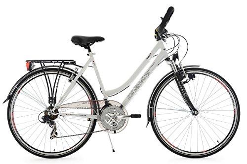 KS Cycling Trekkingrad Damen 28'' Vegas weiß RH53cm Multipositionslenker