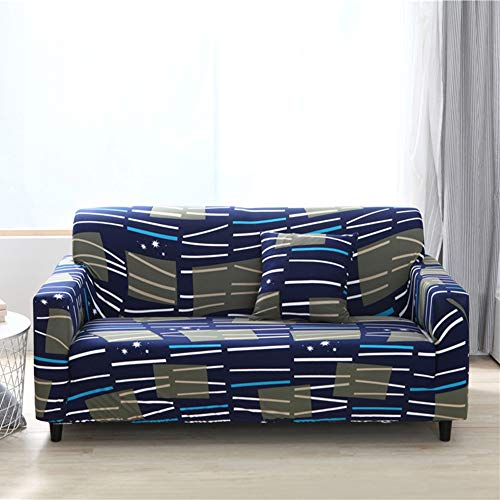 GYF Fundas de sofá para 3 personas, fundas de sofá, superelásticas, impermeables, a prueba de polvo, para sala de estudio, dormitorio, sala de estar, decoración