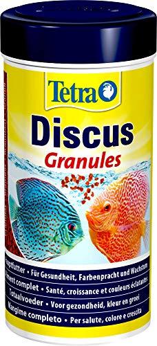 Tetra Discus (especialmente a la nutrición necesidades de peces de Diskus adaptados Principal Forro en forma de granulado), diferentes tamaños ⭐