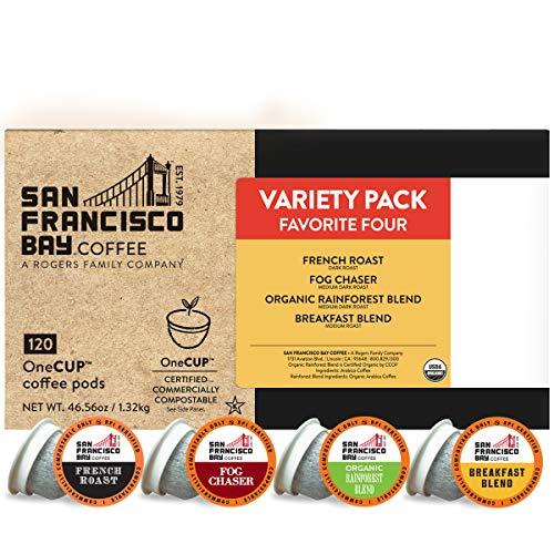 SF Bay Coffee OneCUP Variety Pack 120 Ct...