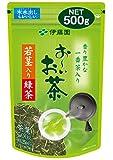 おーいお茶 若芽・若茎入り緑茶 500g