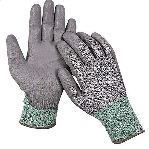 ZYJ Ademende Cut-Proof Handschoenen Klasse 3 Anti-Snijden Slacht Anti-Mes Knipt Glas Handling Beschermende Handschoenen Wear-Resistant 1 Paar Universaliteit