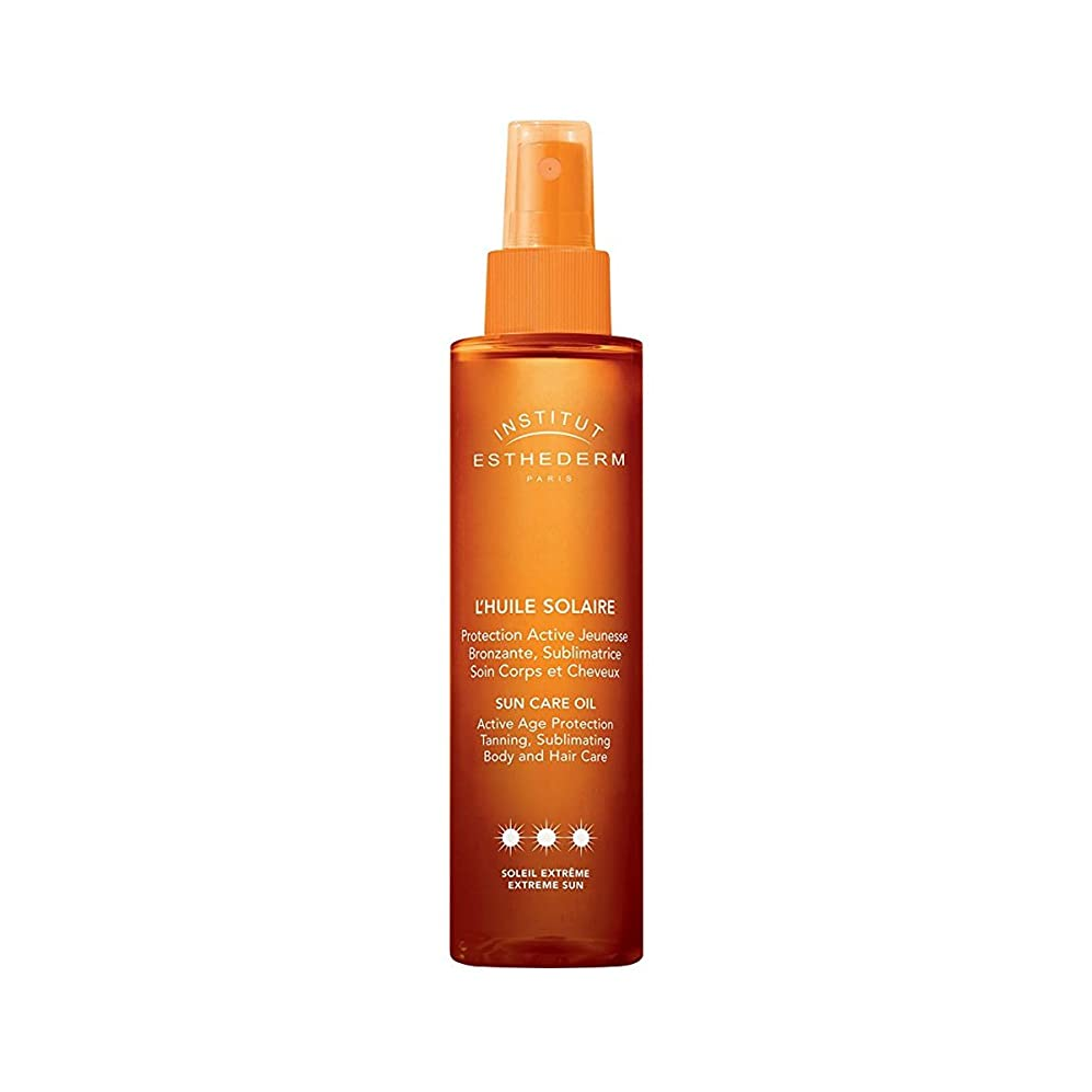 エイズ死与えるInstitut Esthederm Protective Sun Care Oil For Body And Hair Strong Sun 150ml [並行輸入品]