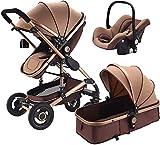 Mnjin Carro de muñecas Baby Travel System Kinderwagen In Einem