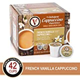 French Vanilla for K-Cup Keurig 2.0 Brewers, 42 Count, Victor Allen's Coffee Cappuccino Single...