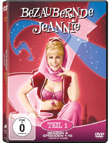 Bezaubernde Jeannie - Season 2.1 (2 DVDs)