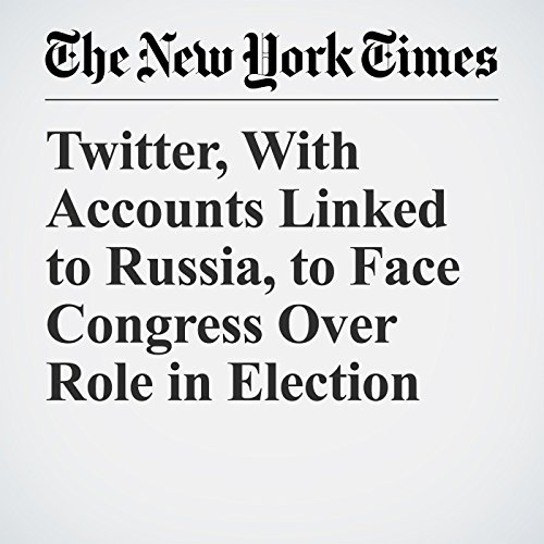 Twitter, With Accounts Linked to Russia, to Face Congress Over Role in Election copertina