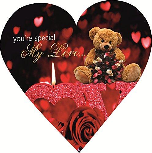 Skylofts Cute 5pc Chocolates I Love You Heart Chocolate Box Valentines Gift for Boyfriend