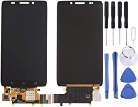 Electronic Accessories QXS for XH for 2 in 1 (LCD + Touch Pad) Digitizer Assembly for Motorola Droid Ultra / XT1080(Black) LCD Screen (Color : Color1)