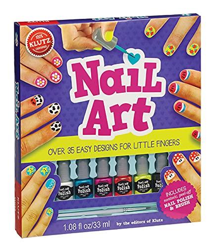 Nail Art: Over 35 Easy Designs for Little Fingers (Klutz)