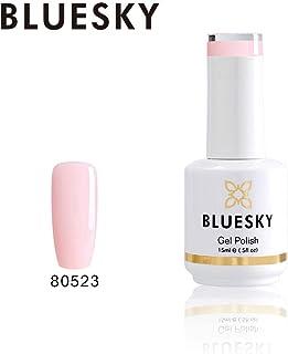 Bluesky Gel Nail Polish (80523), Pale Pink, 15 milliliters