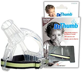Dr.Thumb Stop Thumbsucking Thumb Sucking Kids Baby Child Finger Guard Protect (Small (From 12 To 36 Month))