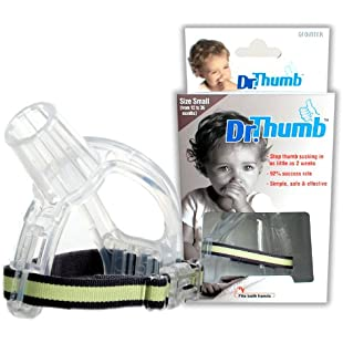 Dr Thumb - The original thumb sucking treatment kit. Break the habit in 2 weeks. (Small (12-36 Months)):Tudosobrediabetes