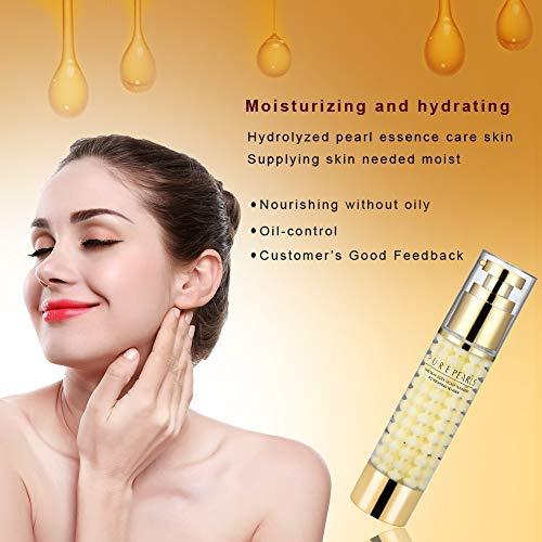 Crema facial Colágeno Esencia de cuidado facial Crema hidratante refrescante para mujeres para todo tipo de piel