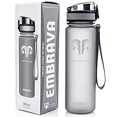 Best Sports Water Bottle - 18oz Small