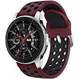 Syxinn Compatible para 22mm Correa de Reloj Galaxy Watch 46mm/Gear S3 Frontier/Classic/Galaxy Watch...