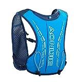 SingMax Mochila de hidratación para correr con mochila ligera para carreras de 6 a 12 años de edad, para niños, maratón, correr, camping, senderismo, deportes