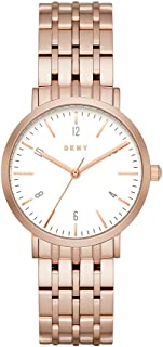 Dkny Women's Quartz Stainless Steel Casual Watch, Analog Display