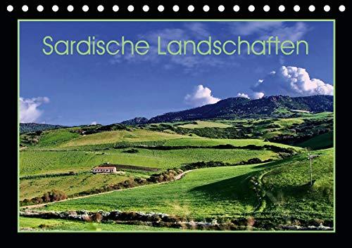 Sardische Landschaften (Tischkalender 2021 DIN A5 quer)