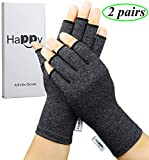 Best Arthritis Gloves - 2 Pairs Arthritis Gloves, Compression Gloves for Rheumatoid Review