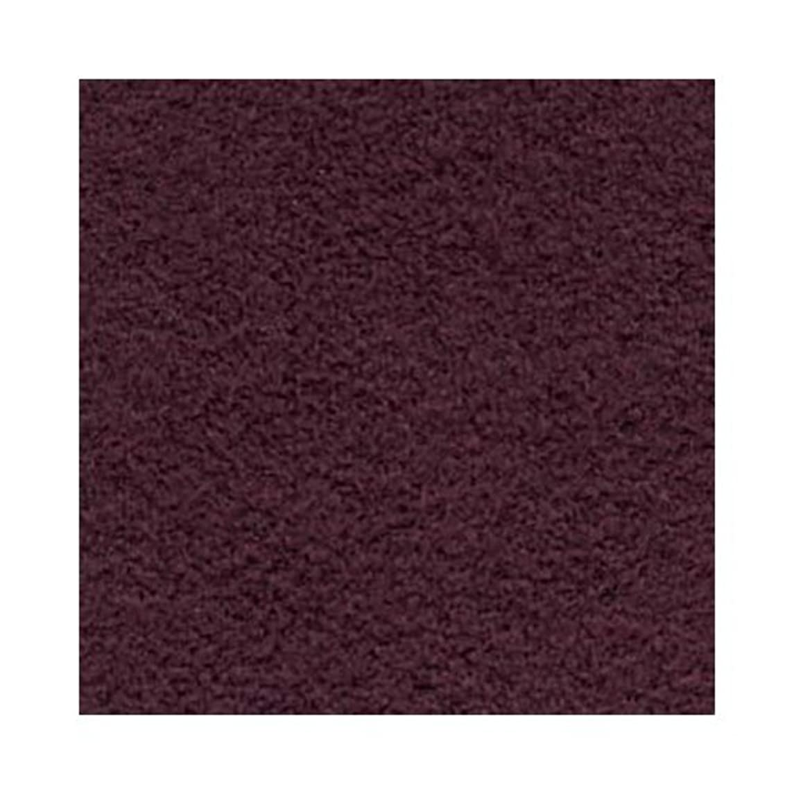 Ultra Suede for Beading Foundation and Cabochon Work Bordeaux Burgundy Red 8.5x8.5 Inches