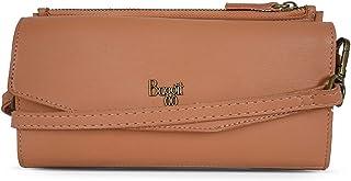 Baggit Autumn-Winter 2020 Faux Leather Women's 2 Fold Wallet (Peach) (Kitsch)