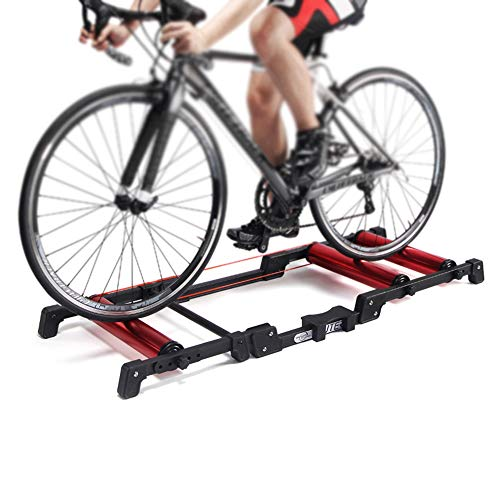 Bike Rollers Indoor Exercise Bicycle Roller Trainer Stand Aluminum Alloy MTB Road Bicycle Home Cycling Training for 2429 MTB