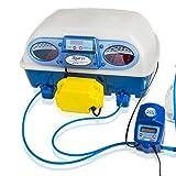 Borotto REAL 24 Expert - Incubadora Automática profesional patentada, con Humidificador Automático Sirio - para 24 huevos o 96 huevos pequeños