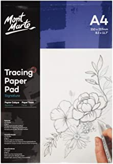 Mont Marte Tracing Paper Pad A4 60gsm 40 Sheet