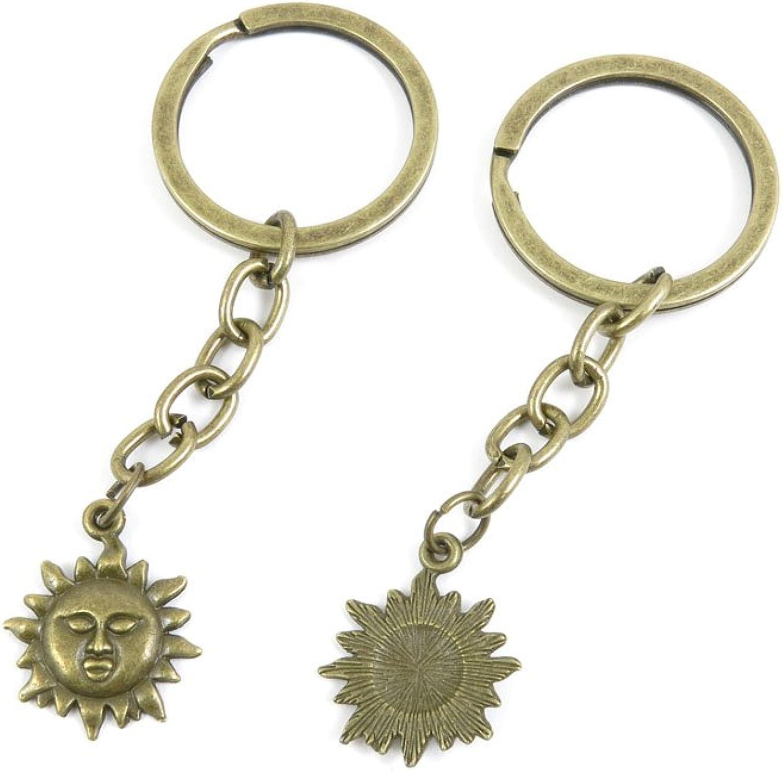 230 Pieces Fashion Jewelry Keyring Keychain Door Car Key Tag Ring Chain Supplier Supply Wholesale Bulk Lots T7FN1 Titan Sun
