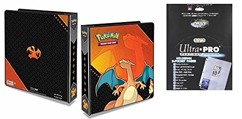 "Charizard 2"" Album with 100 Ultra Pro Platinum 9-Pocket Sheets"