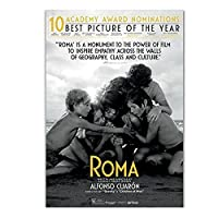 Qqwer Roma Movie Alfonso Cuaron Movie 2018 Love Painting Art Poster Print Canvas Picture Home Decor -50X70Cmx1 No Frame