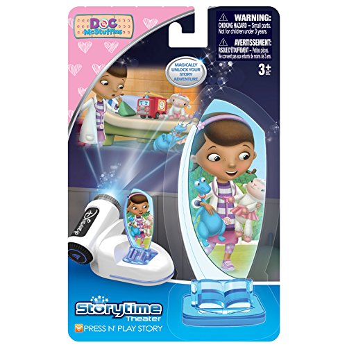 Tech 4 Kids Story Time Theater Press & Play Doc Mcstuffins Toy