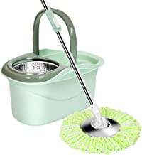 Cleaning Mops,Mop Buckets Sets Household Cleaning Mop Floor Mop Bucket Cleaning System Easy Wring Cleaning Tools,C Xping (...
