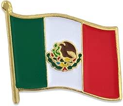 PinMart Mexico Mexican World Flag Enamel Lapel Pin 3/4''