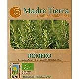 Madre Tierra - Semillas Ecologicas de Romero -( Rosemaryinus Officinalis ) Origen Vacarisses - Barcelona - Semillas Especiales - 1.5 gramos