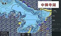 ロランスGPS魚探専用全国湖沼図&国土地理院湖沼調査図 SDカード 16GB版