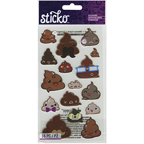 Sticko Classic Funny Frosting Stickers