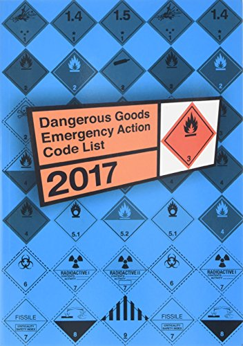 Dangerous goods emergency action code list 2017